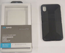 Speck Presidio GLOSSY GRIP Case for Apple iPhone XS Max - Black