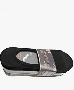 Sketchers Womens No Show Liner Socks 8 Pairs Size (5-9.5)