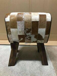 Buffalo Leather Pommel Horse Stool