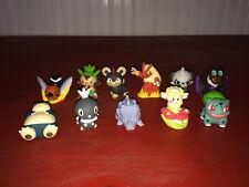 Nintendo Pokemon PVC Finger Puppets Figure Lot - 11 Total Figures