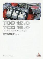 Prospekt Deutz Motor TCD 12.0 16.0 Industriemotor 3 10 2010 brochure engine