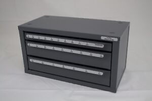 HUOT LETTER (SIZES A-Z) DRILL BIT DISPENSER (ORGANIZER) CABINET13050