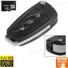 Wireless Security Camera Car Key Remote mini cam Anti Thief  (No SPY hidden