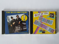THE BLUES BROTHERS 86 Original Soundtrack & THE BEST OF 81 CD Bundle EXCELLENT