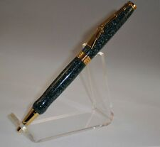 Handcrafted Lever Action Rifle 24kt Finish Pen Hunter Veteran Soldier Police