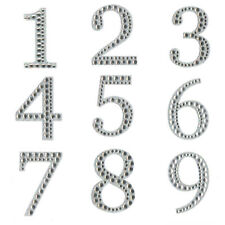 Diamante Number Stickers - Superior Quality Self Adhesive Sparkly Numbers - 5cm