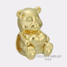 Authentic Pandora Sterling Silver SHINE™ Theodore Bear Bead 767236
