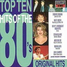 Top Ten Hits of the 80's (20 tracks, 1990, mfp/EMI) Duran Duran, Kate Bus.. [CD]
