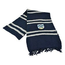 HARRY POTTER RAVENCLAW House WOOL SCARF w/ CREST Navy Blue NEW