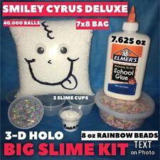 DIY SLIME KIT SLIME SUPPLIES Make your own Fluffy, Glitter Slime Kit