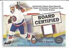 2001-02 Fleer Greats of the Game Mike Bossy Board Certified Relic