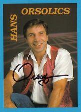 Hans Orsolics -  ehemaliger österreichischer Profiboxer - # 11144