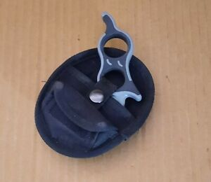 """Gerber E-Z Zip Gut Hook Tool 1.625"""" Carbon Steel Blade And Sheath"""