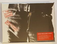 """sealed ROLLING STONES """"STICKY FINGERS""""  2015 DELUXE 2-CD & DVD,BOOK,CARDS BOXSET"""