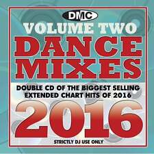 DMC DJ Only Dance Mixes 2016 Vol 2 Dance Music Double CD Set