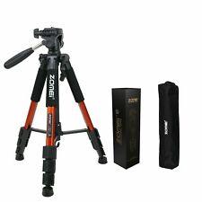 """ZOMEI Professional Camera Tripod 55"""" for Canon Nikon SONY DSLR Camera DV BLK/RED"""