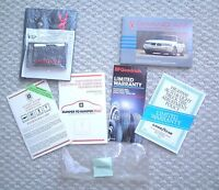 1990 Pontiac GRAND AM Owner / Owners Manual, <no> brochure, 240 pages! +....NOS!