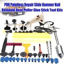 PDR Paintless Repair Slide Hammer Hail Removal Dent Puller Glue Stick Tool Kits