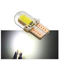 10X LED T10 194 168 W5W COB CANBUS Silica Bright White License Light Bulb Lamp