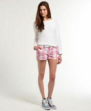 Superdry Check Shorts for Women