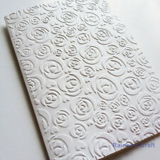 5 Embossed Cards & Envelopes Rose Wedding invitations party invitations