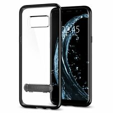 Galaxy S8 Plus case, Genuine SPIGEN Ultra Hybrid S Metal Kickstand Cover