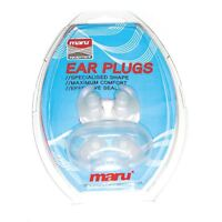 Maru Silicone Ear Plugs with Case Earplugs for Swimming