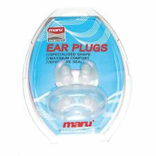MARU Silicone Ear Plugs con Custodia Earplugs per il nuoto
