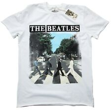 Amplified Official THE BEATLES rock star Abbey Road Vintage Camiseta M 48/50
