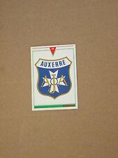 Carte official football cards panini 1993  AJA  AJ AUXERRE  LOGO BLASON