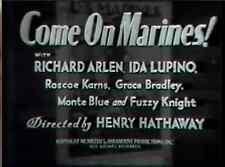 COME ON MARINES 1934 Adventure w/Ida Lupino, Richard Arlen
