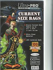 10 Ultra Pro Current Storage Bags / Boards Brand New Acid Free Pre-assembled