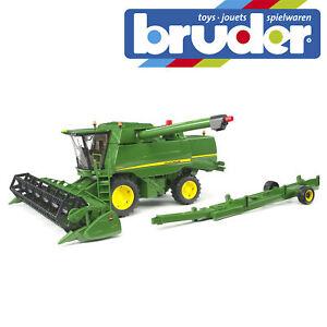 Bruder John Deere Combine Harvester T670I Farm Toy Kids Farming Model Scale 1:16