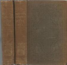 History of the Conquest of Peru Civilization of the Incas by W.Prescott 2 Vol.