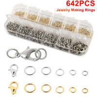 Quality Lobster Clasp Open Jump Rings for DIY Jewelry Making Necklace Bracelet