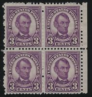 US Stamps - Scott # 635 - p. 11 x 10.5 - Block of 4 - Mint Never Hinged  (D-127)