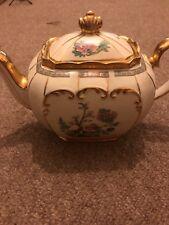 Sadler Gold Lustre large Cube Tea Set - Teapot, sugar pot and milk jug