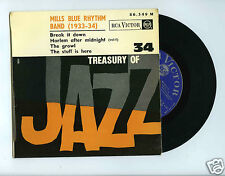 45 RPM EP TREASURY OF JAZZ No 34 MILLS BLUE RHYTHM BAND