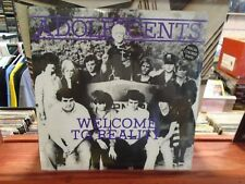 ADOLESCENTS Welcome To Reality Colored Etched 10 Inch [Rikk Agnew]