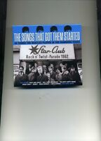 THE SONGS THAT GOT THEM STARTED - CHUCK BERRY JOE BROWN SHIRELLES - 2 CDS - NEW!