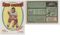 1971-72 O-Pee-Chee #140 Nick Libett Detroit Red Wings Hockey Card