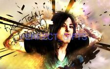 RONNIE RADKE FALLING IN REVERSE SIGNED 10X8 INCH REPRO PHOTO PRINT escape