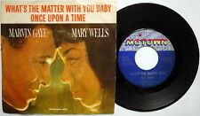 MARVIN GAYE MARY WELLS What's The Matter 45 w/ PIC SLV