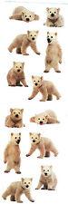 Mrs. Grossman's Stickers - Polar Bear Cubs - Photoessence - 4 Strips