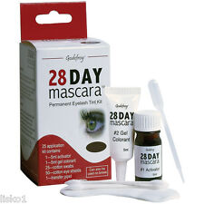 Godefroy 28 day mascara Permanent Eyelash tint - 25 Application Kit  (Black)