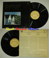 LP BARBER Concerto for piano and orchestra 1965 holland CBS MP 39070 cd mc