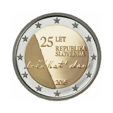 "Slovenia 2 Euro commemorative coin 2016 ""Indenpendence"" - UNC"