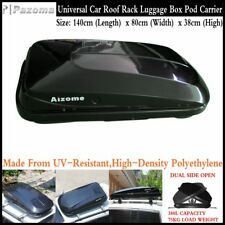 Dual Side Open 380L 75KG Car Roof Rack Luggage Storage Box Pod Cargo Carrier