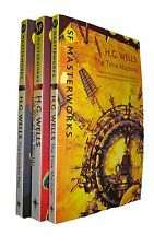 H G Wells 3 Books Science Fiction SF Masterworks Time Machine Invisible Man  New