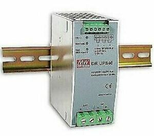 Power Supply Battery Controller for DIN Rail UPS System 40A 24-29V MeanWell